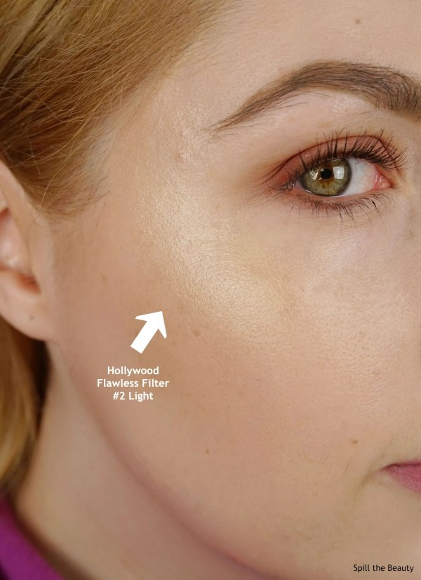 charlotte tilbury hollywood flawless filter 2 light review swatches