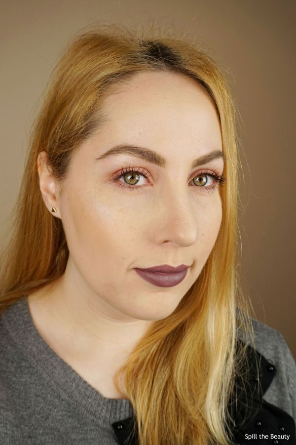 makeup urban decay naked cherry abh dusty mauve