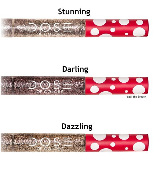 dose of colors minnie mouse collection glitter liquid liner