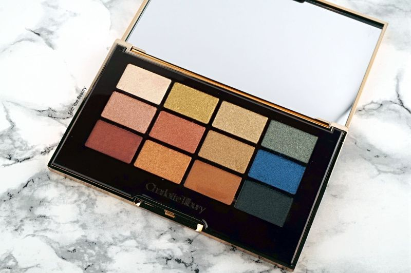 charlotte tilbury the icon palette review swatches looks