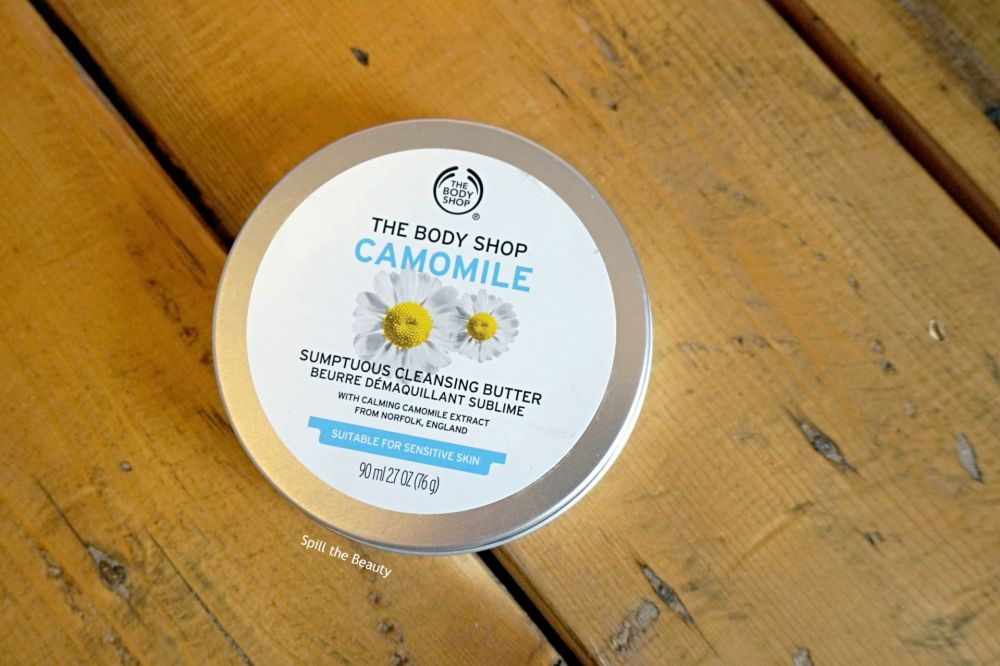 skincare the body shop camomile sumptuous cleansing butter
