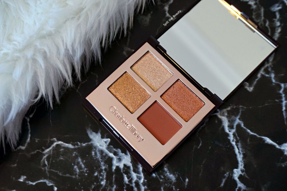 "Charlotte Tilbury ""Copper Charge"" – Review, Swatches and Look"