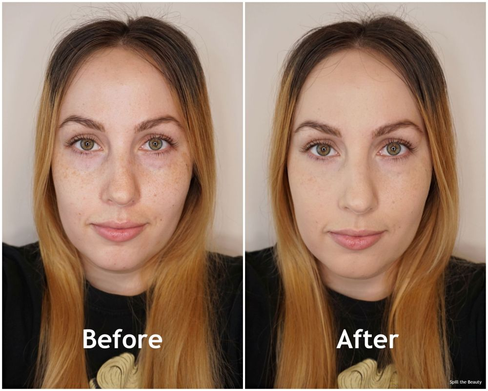 catrice hd foundation light beige before and after
