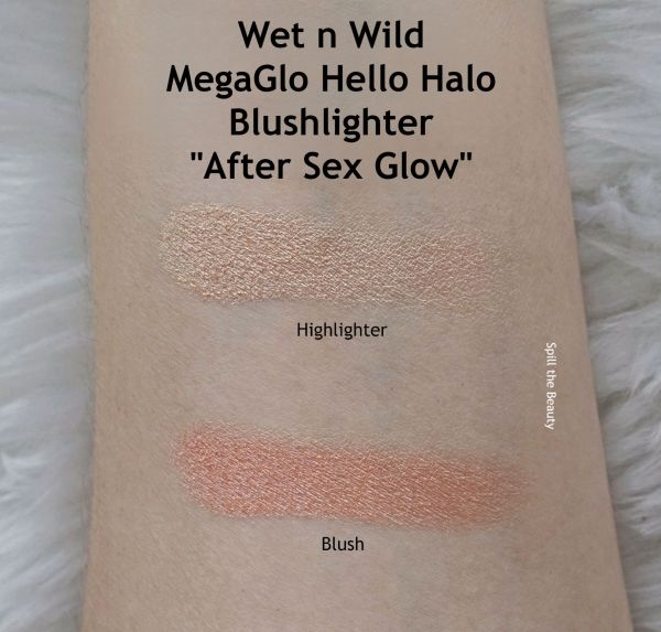 wet n wild after sex glow review swatches