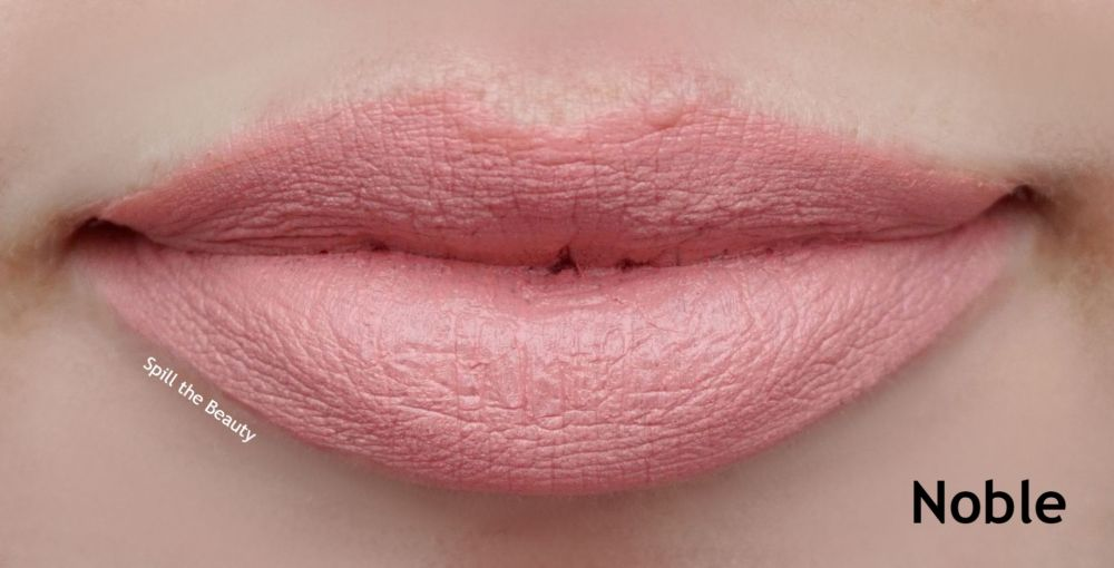 kvd noble lip swatch