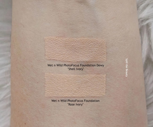 wet n wild dewy foundation review shell ivory old formula