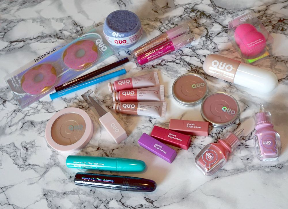 quo beauty swatches 2020 collection