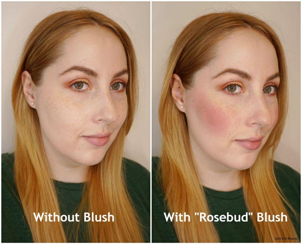 kvd blush rosebud review
