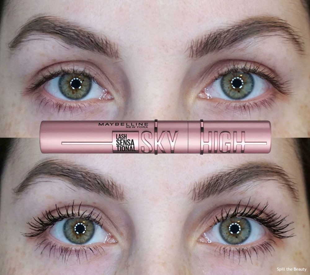 Maybelline Sky High Mascara – Review, Before and After