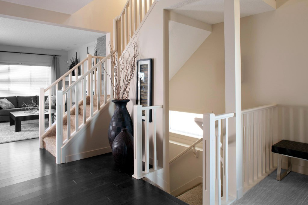 Stair And Railing In Edmonton Alberta RailingBalustrade