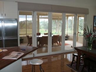 Alfresco dining & bifold doors