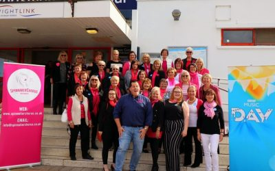 Spinnaker sing for the BBC
