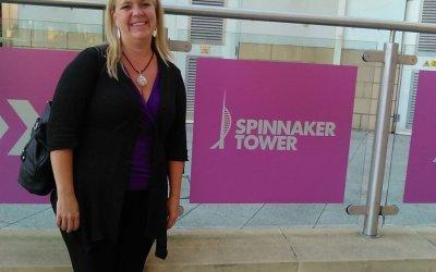 Erin Howden coaches Spinnaker