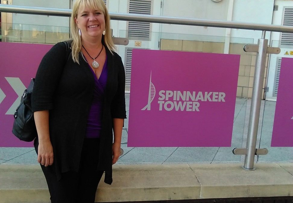 Erin Howden at Spinnaker Tower