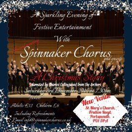 Spinnaker Chorus Christmas Story 2016