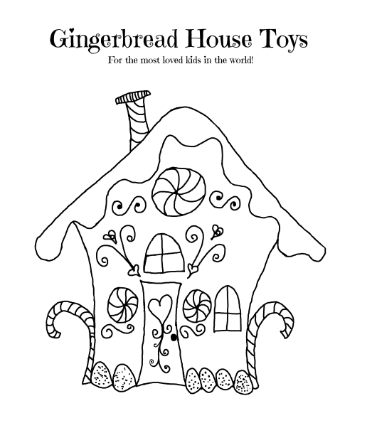 picture of a gingerbread house