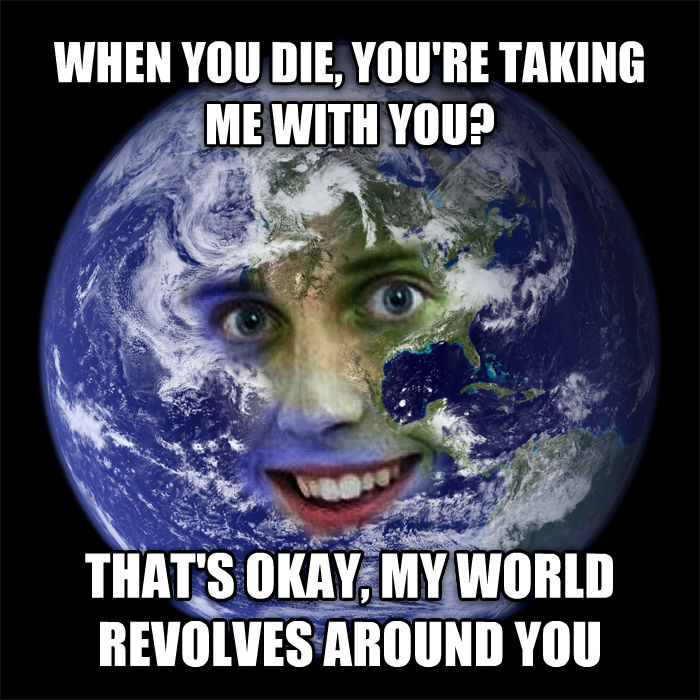 Overly Attached Sun and More Space Meme Mashups | Spinning ...