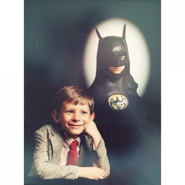 Real Photo of Young Bruce Wayne