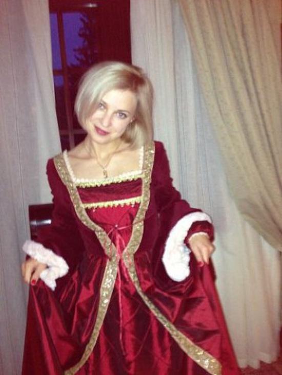 Natalia Poklonskaya in Red Dress
