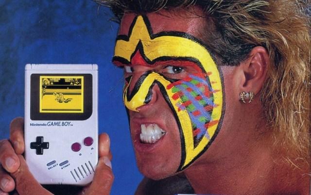 Ultimate Warrior Nintendo Game Boy Ad
