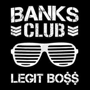 Banks Club - WWE NXT Diva Sasha Banks x NJPW's Bullet Club Mashup T-Shirt - Legit Boss