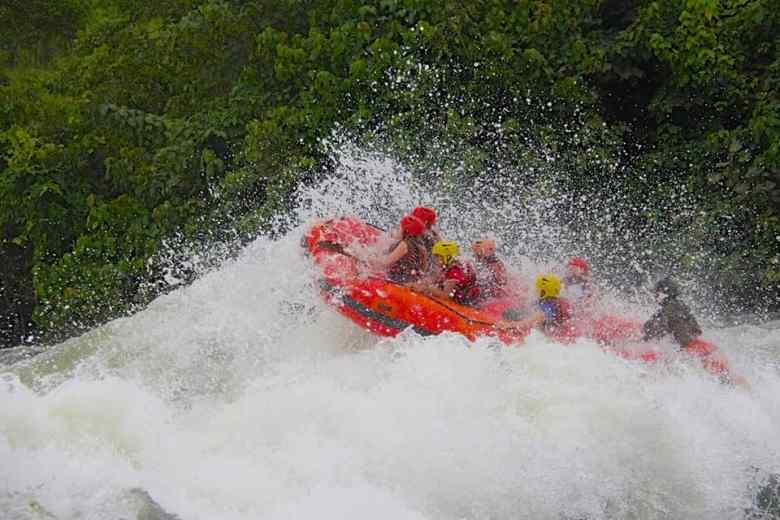 white water rafting down the Nile River in Uganda bucket list worthy