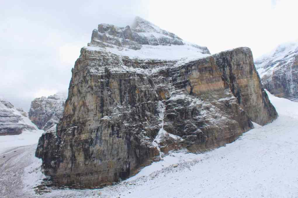 point of six glacier hike