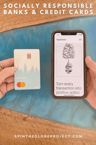 socially responsible banks and credit cards