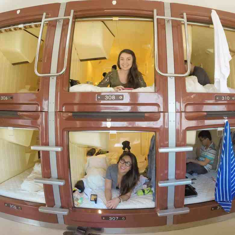 capsule hotel in Tokyo japan is a accommodation that should be on your bucket list