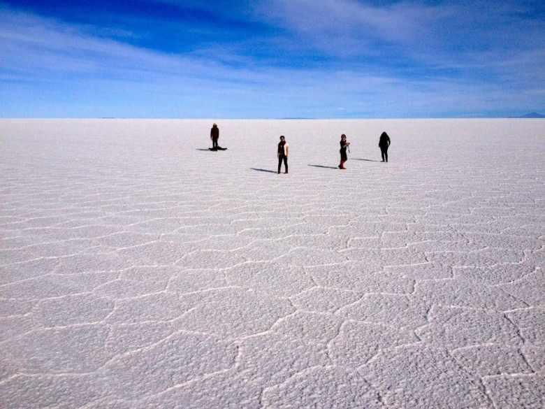 Salar de Uyuni salt flats in Bolivia are a must see bucket list destination
