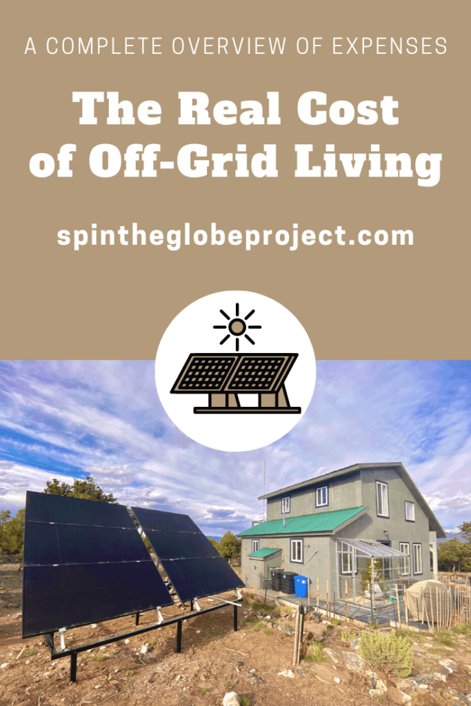 the real cost of off grid living