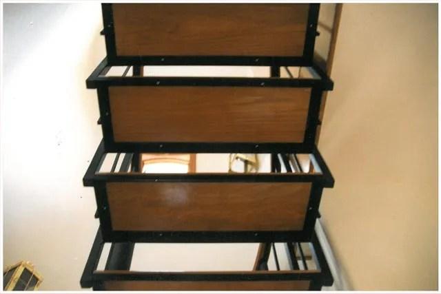 Steel Spiral Staircase Steel Staircase Metal Stairs   Metal And Wood Stairs   Straight   Diy   Residential   Rustic   Stair Railing
