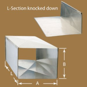Spiral Manufacturing  Low Pressure Rectangular Duct