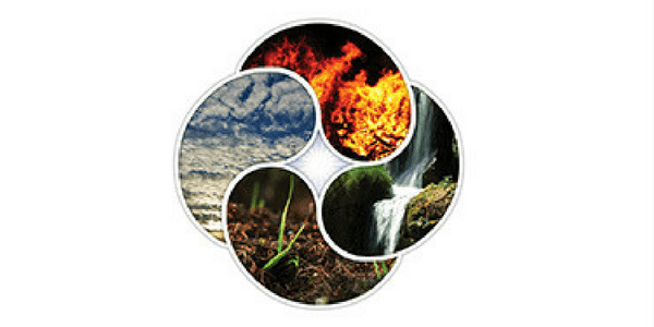 Earth Air Fire Water Header Image