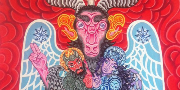 Detail from Baphomet Rex Mundi, by Barry William Hale