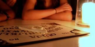 Ouija board, photo by Adeline