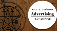 Spiral Nature Advertising