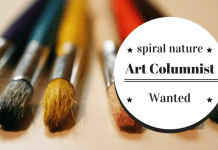 Art columnist wanted