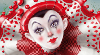 Divine Circus Oracle, Detail from Cherry on Top