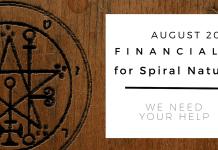 Financials for Spiral Nature August 2017