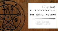 Financials for Spiral Nature July 2017