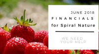 Financials for Spiral Nature June 2018