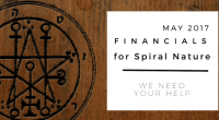 Financials for Spiral Nature May 2017
