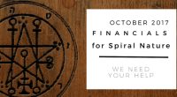 Financials for Spiral Nature October 2017