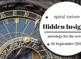 Hidden Insights: Astrology for the week of 16 September 2018