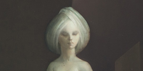 Detail from Le Carrefour d'hecate, 1977-78, painted by Leonor Fini, courtesy of Weinstein Gallery