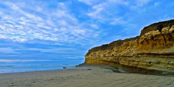 San Gregorio Beach, Northern California, photo by Scott Johnson