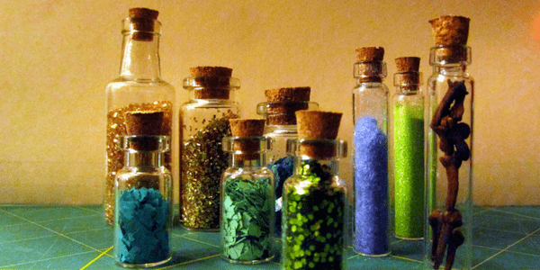 Spell ingredients, photo by mpclemens