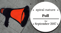 Spiral Nature Poll for September 2017
