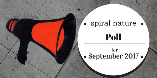 Spiral Nature Poll for September 2017